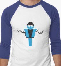 Subzero the Snowman Men's Baseball ¾ T-Shirt