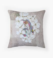 On Becoming Woman Throw Pillow