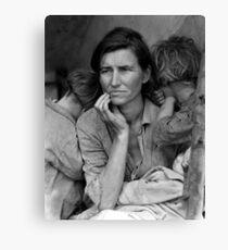 Migrant Mother by Dorthea Lange Canvas Print