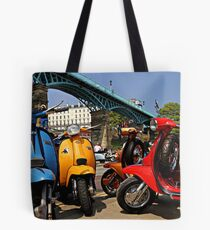 Scarborough National Scooter Rally Tote Bag