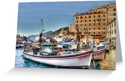 Camogli Boat by oreundici