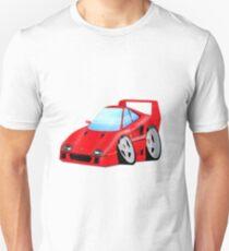 F40 Cartoon Car Unisex T-Shirt