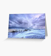 Storm at Dicky Greeting Card