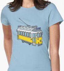 Hello from Lisbon Women's Fitted T-Shirt