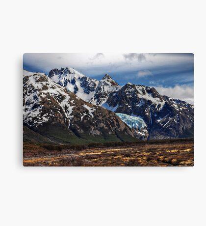 Hanging Glacier Canvas Print