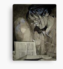 Sonja in Grey Canvas Print
