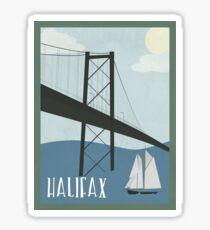 Halifax Canada Sticker