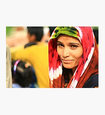 india, portraits of women Photographic Print