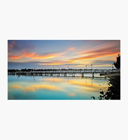 Reflections of a Jetty Photographic Print
