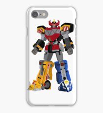 Mighty Morphin Power Rangers Megazord iPhone Case/Skin