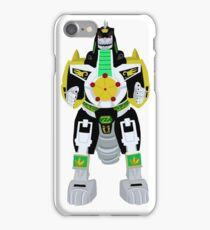 Mighty Morphin Power Rangers Dragonzord iPhone Case/Skin