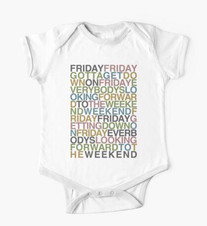 Friday - Rebecca Black Kids Clothes