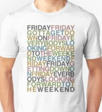 Friday - Rebecca Black Unisex T-Shirt