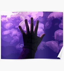 Moon Jellies Poster
