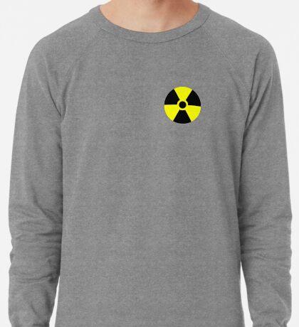 Warning Radiation T Lightweight Sweatshirt