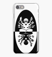 7 deadly sings, 7 heavenly virtues iPhone Case/Skin