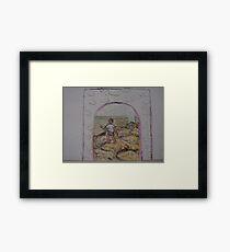 horoscope boy Framed Print