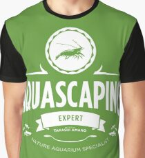 Aquascaping - Expert Graphic T-Shirt
