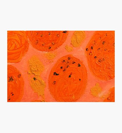 Impression Oranges Photographic Print
