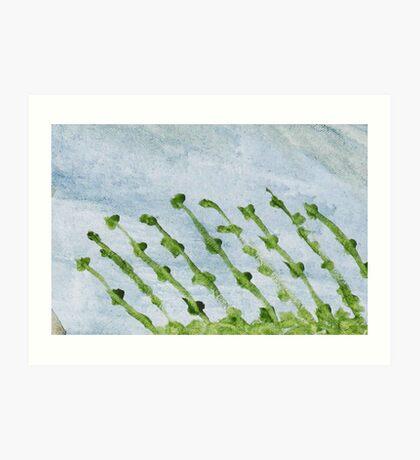 Impression Shore Seaweeds Art Print