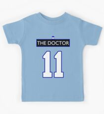 Team Smith (The Doctor Jersey #11, Version TaRDiS) Kids Clothes