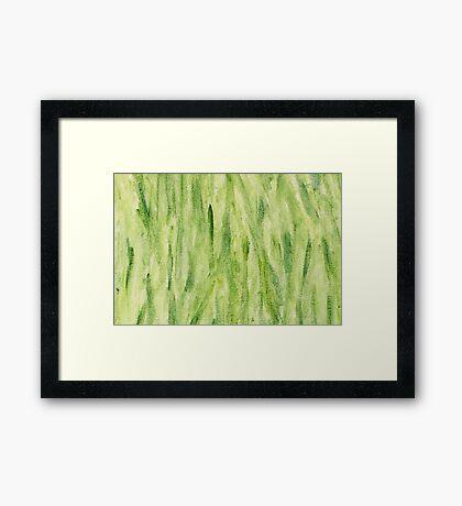 Impression Seaweed Framed Print