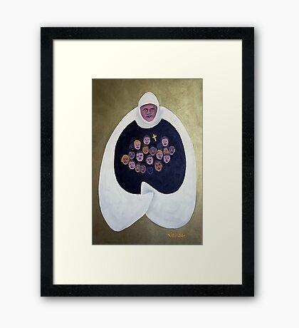 Mother Superior Framed Print