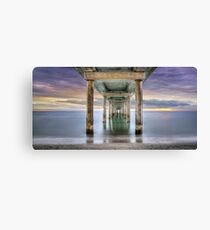 Under Brighton Jetty - South Australia Canvas Print