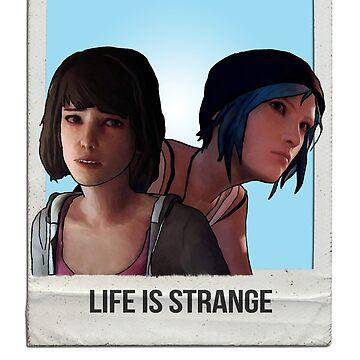 Life is Strange (Max & Chloe) POLAROID by Vixetches