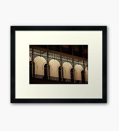 Delicate Lacework Framed Print