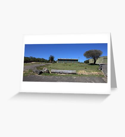 North Head Manly - army shed Greeting Card
