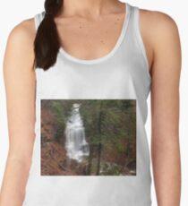Ganoga Falls Roars in the Misty Glen Women's Tank Top