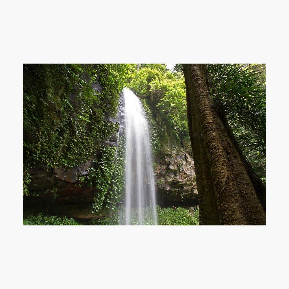 Crystal Falls Photographic Print