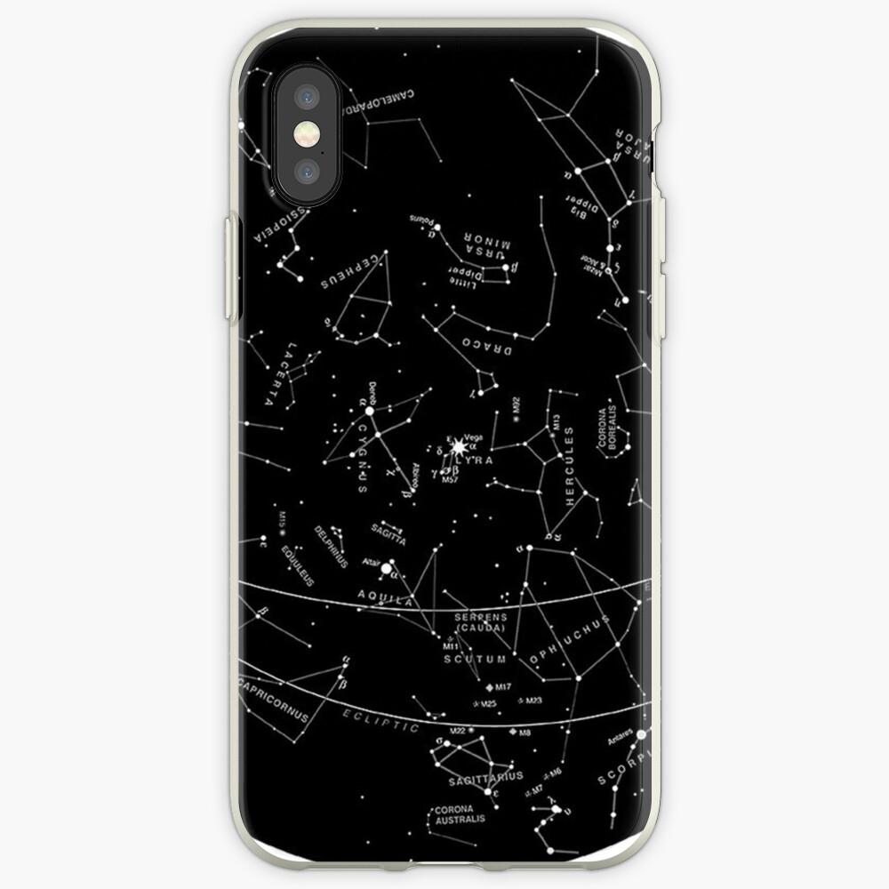 Constelaciones Vinilos y fundas para iPhone