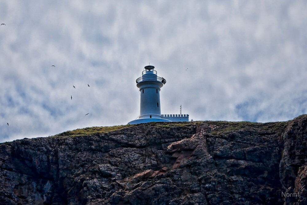 """"""" Lighthouses are lonely figures"""" (Tianne Albrow 2012) by Normf"""