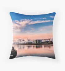 Awesome Belfast Sunset Throw Pillow