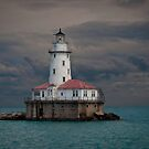 Light House and the Storm  by Mariano57