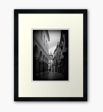 Sant'Agata dei Goti 1 Framed Print