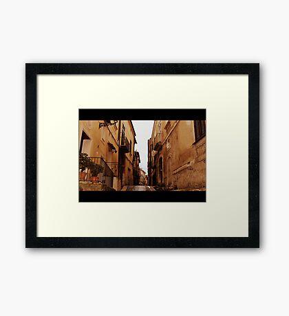 Sant'Agata dei Goti  Framed Print