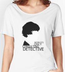 World's Only Consulting Detective V2 (for light coloured tops) Women's Relaxed Fit T-Shirt