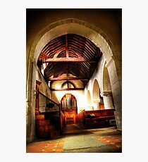 Through St Nicholas, Compton Photographic Print