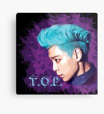 T.O.P ~ Big Bang Metal Print