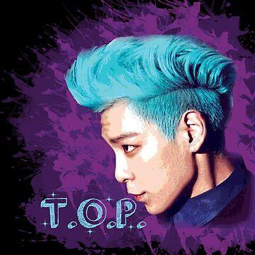 T.O.P ~ Big Bang by bandreaNRG