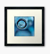 Empty Blue.... Framed Print