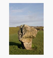 Faces in the Stones 5 Photographic Print