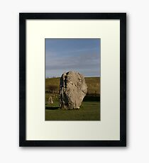 Faces in the Stones 6 Framed Print