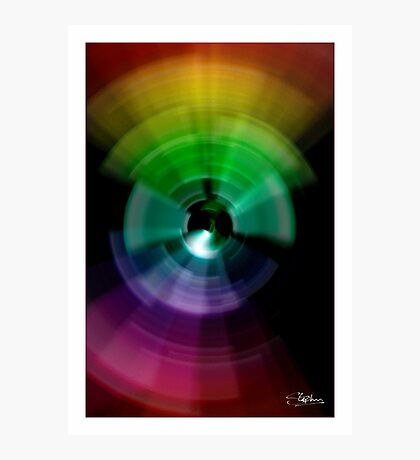 The Colour Spectrum Photographic Print