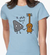 I pick you! Women's Fitted T-Shirt