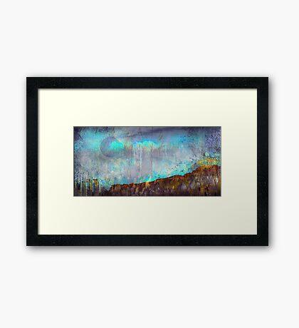 Barely Winter Framed Print