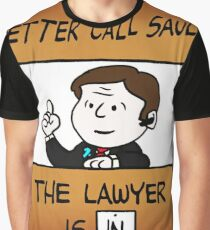 Better Call Saul Lawyer Graphic T-Shirt